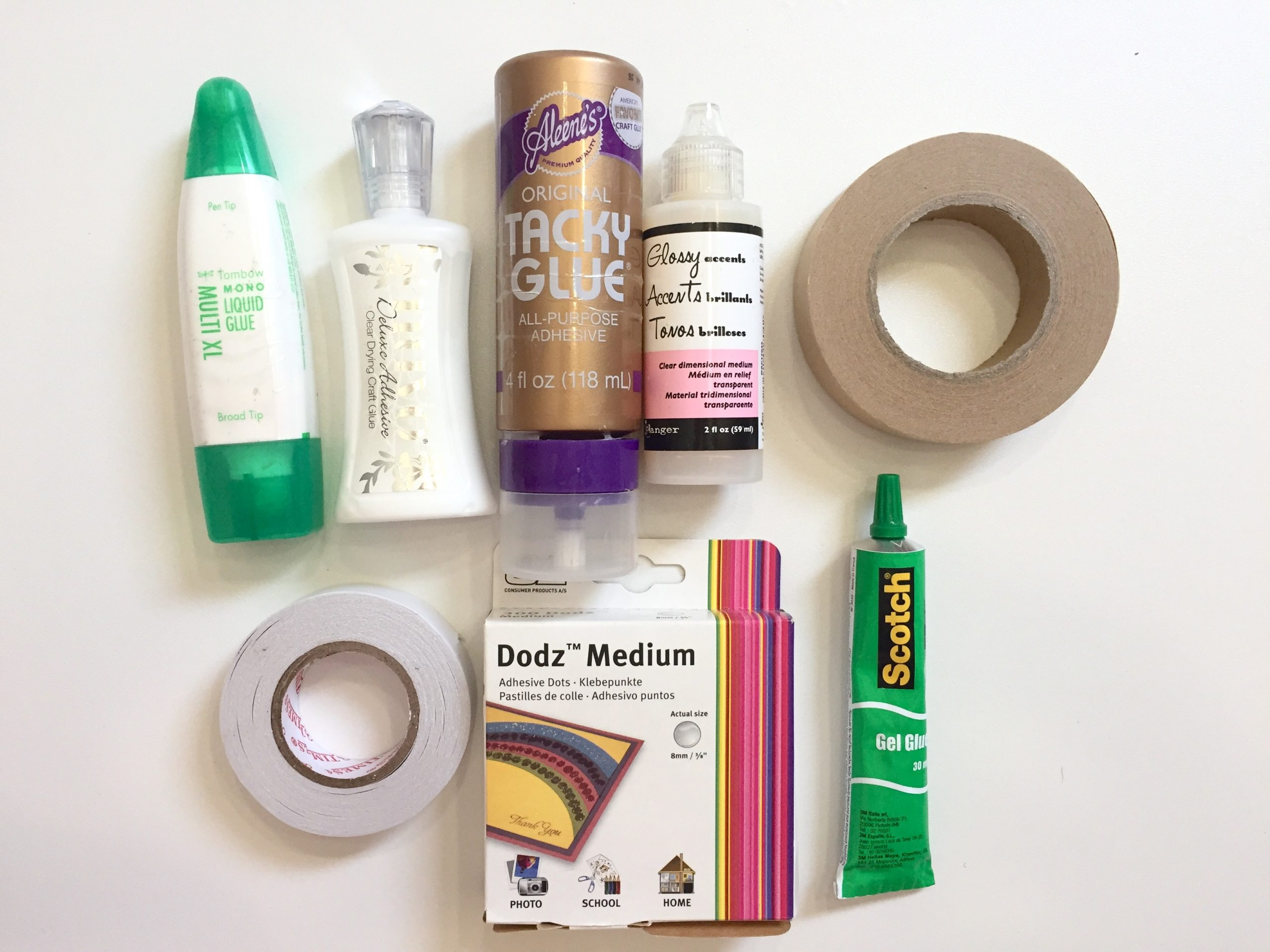 Adhesivos scrapbooking