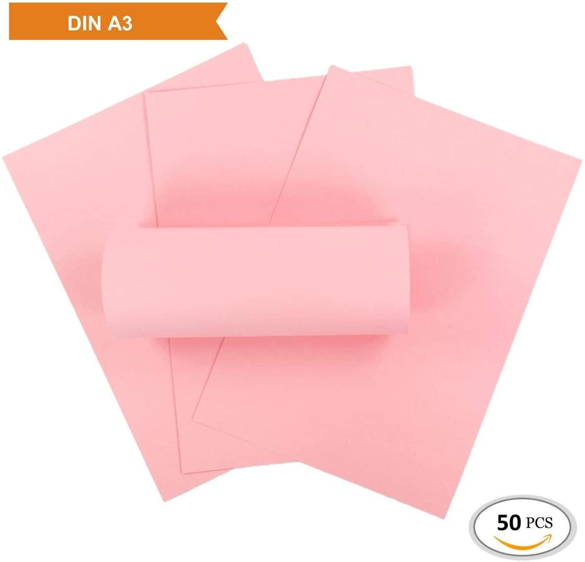 Cartulina rosa